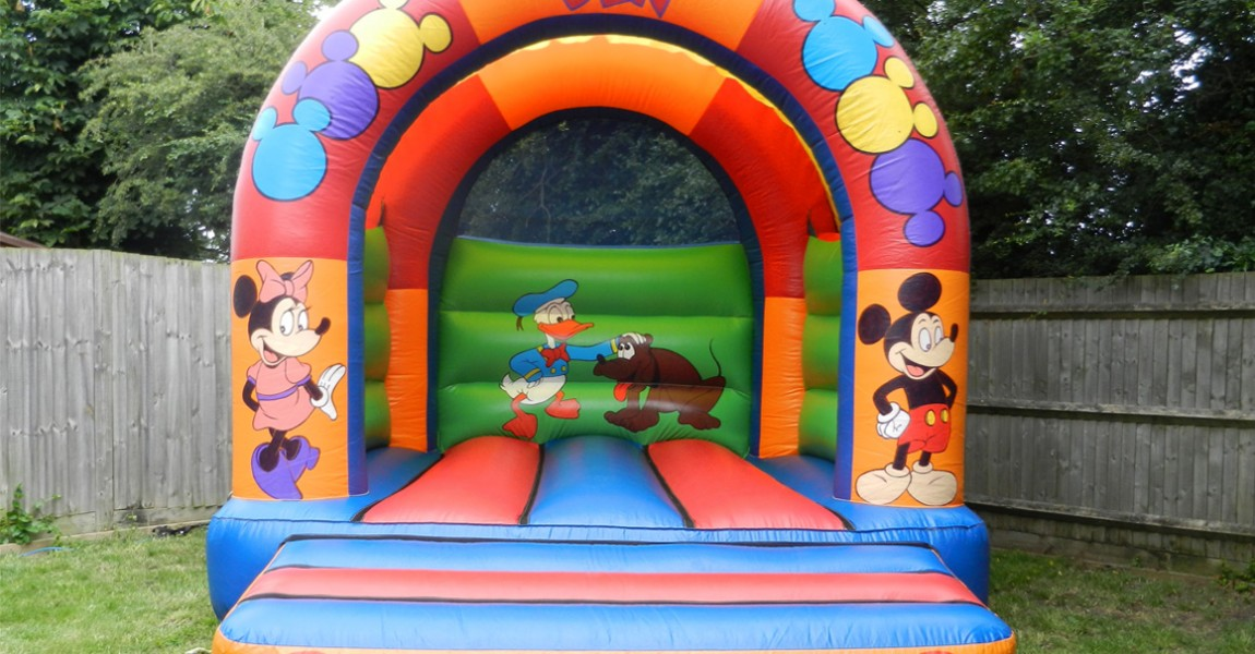 Krazy Castles Bouncy Castle Hire Mickey