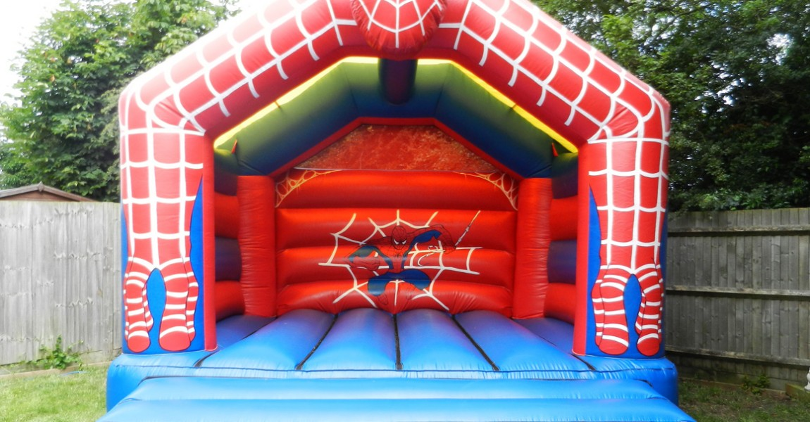 Krazy Castles Bouncy Castle Hire Spiderman