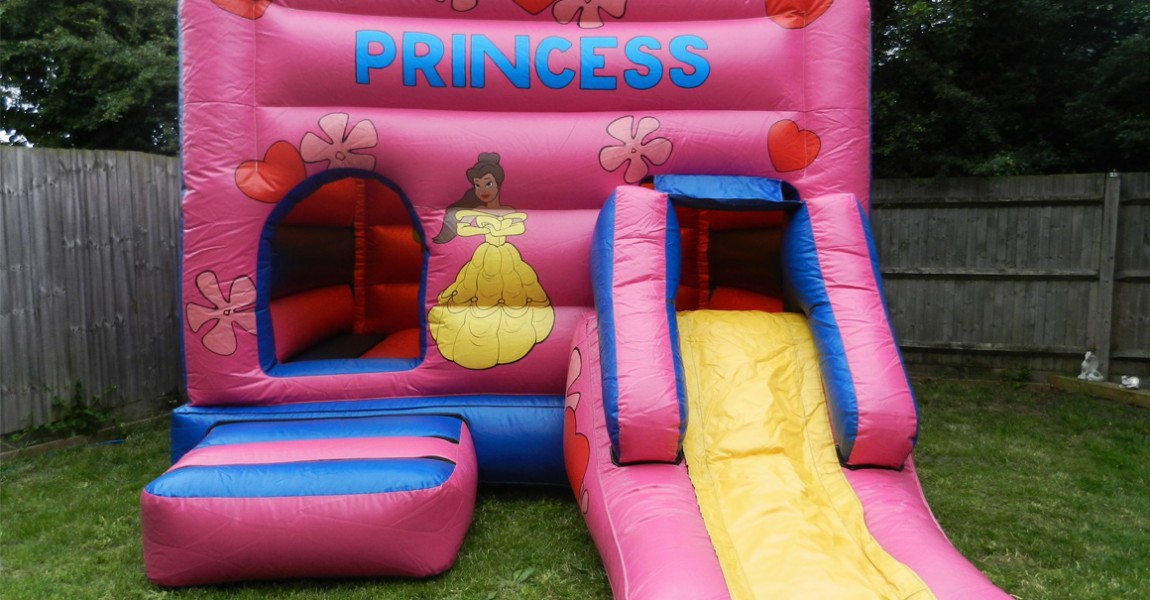 Krazy Castles Bouncy Castle Hire Princess